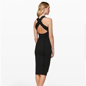 Lululemon Black Picnic Play dress